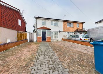 Thumbnail 4 bed semi-detached house for sale in Ufford Close, Harrow