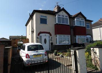 Thumbnail 3 bed semi-detached house for sale in Gadlas Road, Llysfaen, Colwyn Bay, Conwy