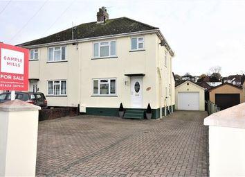 Thumbnail 3 bed semi-detached house for sale in Rydon Road, Kingsteignton, Newton Abbot, Devon.