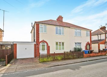 Thumbnail 3 bedroom semi-detached house for sale in Deben Road, Ipswich