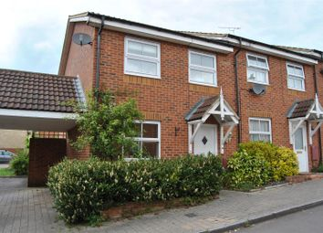 Thumbnail 3 bedroom end terrace house for sale in Mason Road, Abbey Meads, Swindon