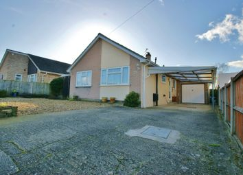 Thumbnail 3 bed detached bungalow for sale in Godfrey Road, Spixworth, Norwich