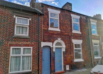 Thumbnail 3 bed terraced house for sale in Mount Street, Hanley, Stoke On Trent