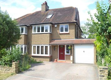 Thumbnail 4 bed semi-detached house for sale in Birches Close, Epsom