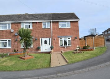 Thumbnail 5 bedroom semi-detached house for sale in Fairfield Crescent, Newhall, Swadlincote