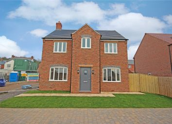 Thumbnail 4 bedroom detached house for sale in Grace Road, Sapcote, Leicester, Leicestershire