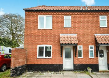 Thumbnail 3 bed end terrace house for sale in St. Johns Court, Swaffham