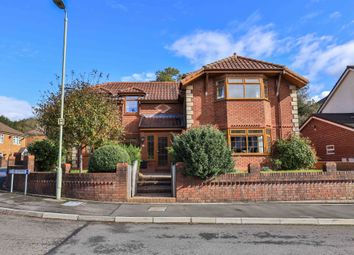 Thumbnail 5 bed detached house for sale in Tai Dyffryn, Nantgarw, Cardiff