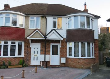 Thumbnail 3 bed semi-detached house to rent in Northgate Road, Crawley