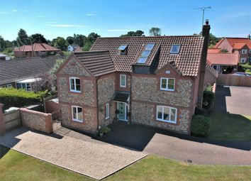 Thumbnail 6 bed detached house for sale in Chequers Lane, Gressenhall