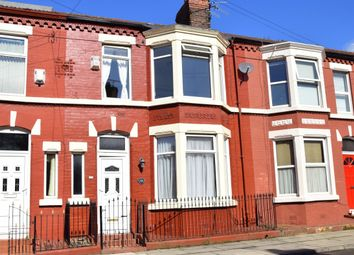 Thumbnail 3 bed terraced house for sale in Ashbourne Road, Liverpool, Merseyside