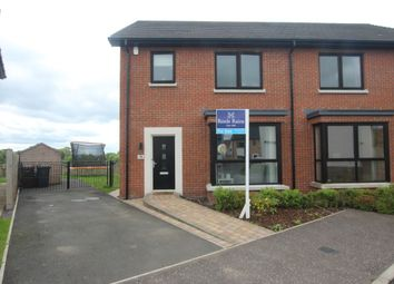 Thumbnail 3 bed semi-detached house for sale in Bashford Drive, Carrickfergus