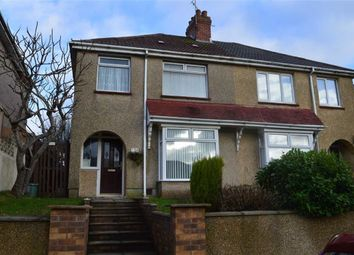 Thumbnail 3 bed semi-detached house for sale in Penygraig Road, Swansea