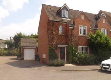 Thumbnail 4 bed end terrace house for sale in Cooks Way, Biggleswade, Bedfordshire