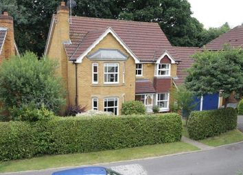 Thumbnail 4 bed detached house for sale in Barefoot Close, Tilehurst, Reading