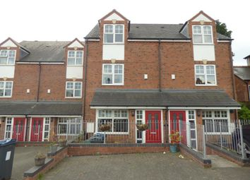 Thumbnail 4 bed town house to rent in Tennal Road, Harborne, Birmingham