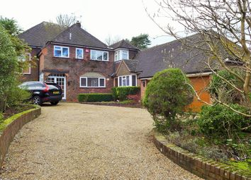 Thumbnail 5 bed detached house to rent in Avenue Road, Fleet