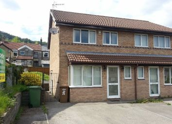 Thumbnail 3 bed semi-detached house for sale in Garden Street, Llanbradach, Caerphilly