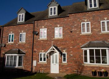 Thumbnail 3 bed terraced house for sale in Syfer Close, Caistor, Market Rasen