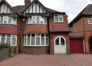 Thumbnail 3 bedroom semi-detached house for sale in Fox Hollies Road, Acocks Green, Birmingham