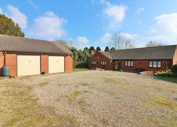 Thumbnail 5 bedroom detached bungalow for sale in Allotment Gardens, Dereham