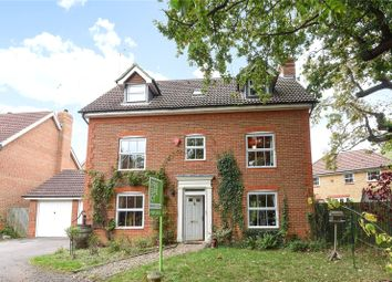 Thumbnail 5 bed detached house for sale in Bushell Way, Arborfield, Berkshire