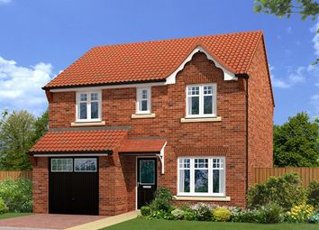 "Thumbnail 4 bedroom detached house for sale in ""The Baybridge"" at Shireoaks Common, Shireoaks, Worksop"