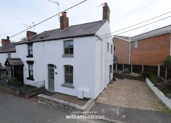 Thumbnail 2 bed end terrace house for sale in New Brighton Road, Sychdyn, Mold