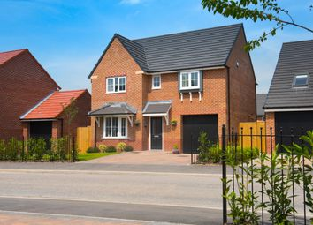 "Thumbnail 4 bed detached house for sale in ""Somerton"" at Blackpool Road, Kirkham, Preston"