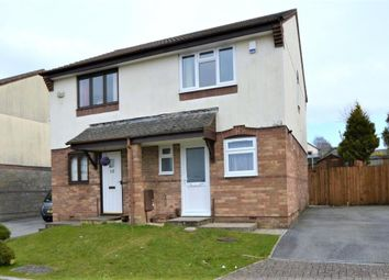 Thumbnail 2 bed semi-detached house to rent in Larch Close, Latchbrook, Saltash, Cornwall