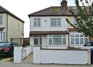 Thumbnail 3 bed end terrace house to rent in Hill Rise, Greenford