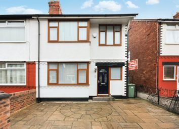 Thumbnail 3 bed semi-detached house for sale in 9 Brookfield Avenue, Waterloo, Liverpool