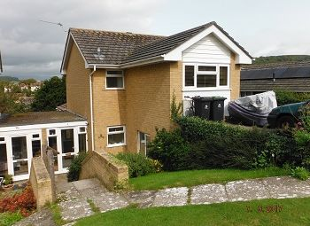 Thumbnail 4 bed detached house to rent in Meech Close, Bridport