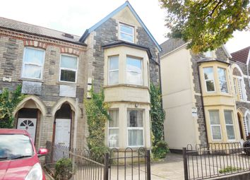 Thumbnail 2 bedroom flat to rent in Top Floor Flat, Richmond Road, Cardiff
