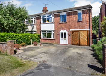 Thumbnail 4 bed semi-detached house for sale in Old Stoke Road, Aylesbury