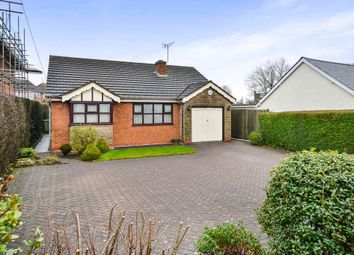Thumbnail 3 bed detached bungalow for sale in Chesterfield Road, Shirland, Alfreton