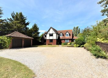 Thumbnail 5 bed detached house for sale in Thorrington Road, Great Bentley, Colchester, Essex