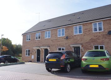 Thumbnail 3 bed end terrace house to rent in Flinders Drive, Hempsted, Peterborough