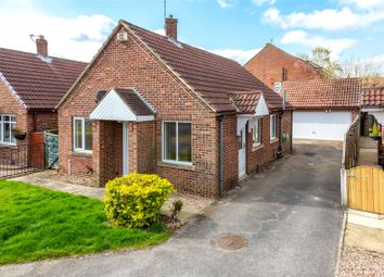 Thumbnail 2 bedroom detached bungalow for sale in Tate Close, Wistow, Selby