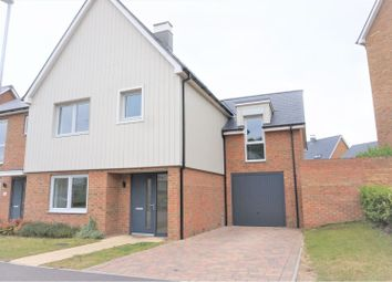 Thumbnail 4 bed semi-detached house to rent in Castleridge Drive, Greenhithe