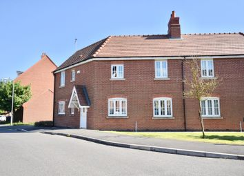Thumbnail 3 bed semi-detached house for sale in Nightingale Drive, Desborough, Kettering