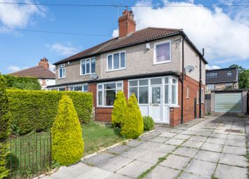 Thumbnail 3 bed semi-detached house for sale in Talbot Crescent, Roundhay, Leeds
