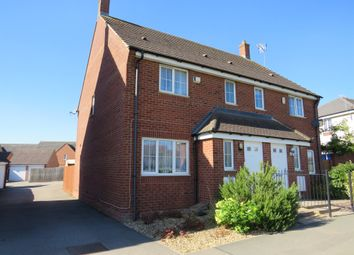 Thumbnail 3 bed semi-detached house for sale in Lyveden Way, Corby