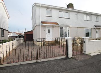 Thumbnail 3 bed semi-detached house for sale in Calder Avenue, Newmains, Wishaw