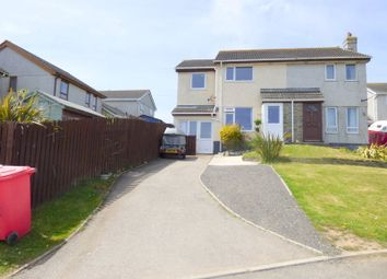 Thumbnail 3 bedroom semi-detached house for sale in St. Georges Hill Close, Perranporth