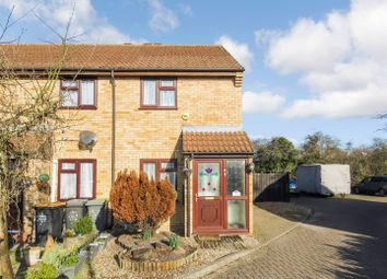 Thumbnail 2 bedroom end terrace house to rent in Swallowfield, Wyboston, Bedford