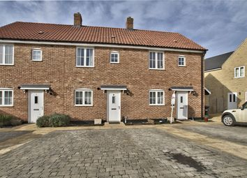 Thumbnail 2 bed terraced house for sale in Pople Drive, Alconbury Weald, Cambridgeshire