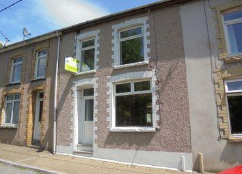 Thumbnail 3 bed terraced house for sale in Sunnyside, Ogmore Vale, Bridgend, Bridgend.