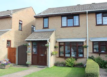 Thumbnail 3 bed semi-detached house for sale in Dymock Close, Seaford