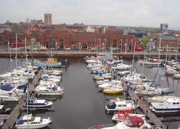 Thumbnail 2 bed flat to rent in Warehouse 13, Hull Marina, Hull